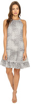 Christin Michaels Leah Halter Woven Dress