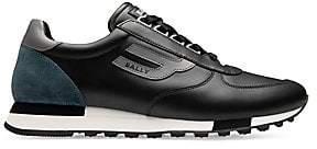 Bally Men's Galaxy Gavino Retro Leather Sneakers