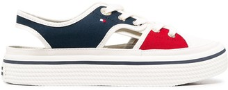 Tommy Hilfiger Colour-Block Logo Sneakers