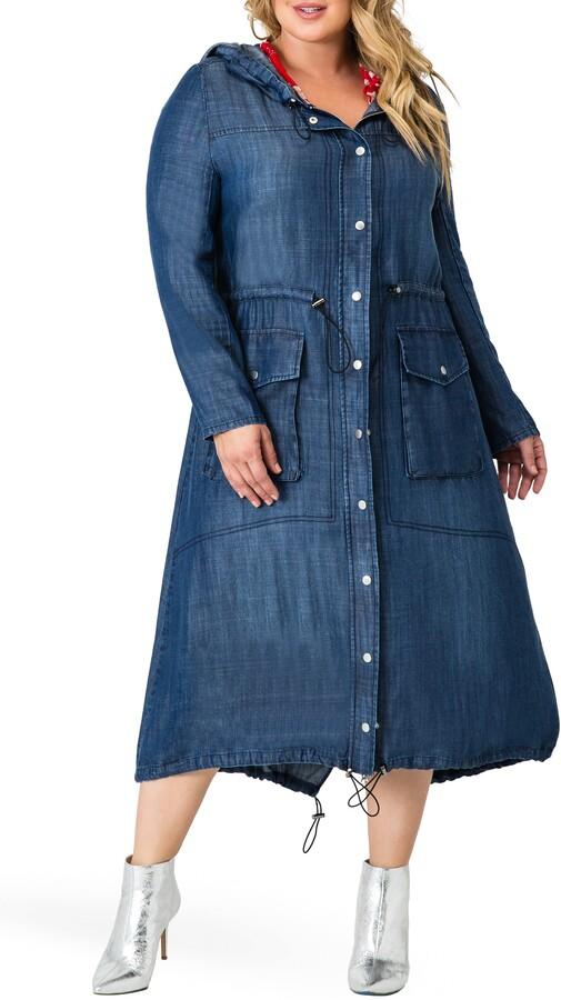 Standards & Practices Nova Tencel Hooded Dress