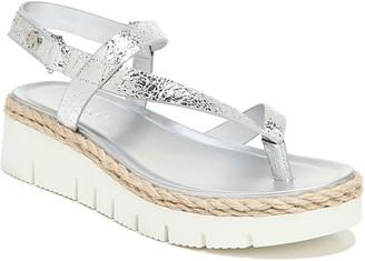 Franco Sarto Strappy Platform Sandals - Jinxy