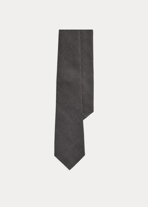 Ralph Lauren Print Cashmere-Silk Tie