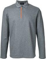 Kent & Curwen long-sleeve polo shirt - men - Cotton - M