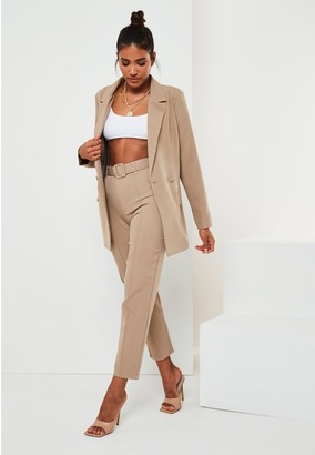 Missguided Co Ord Longline Blazer
