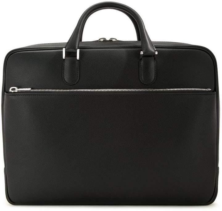Valextra zipped briefcase