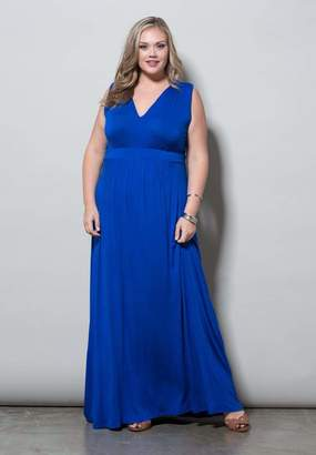Sealed With A Kiss Sealed w/ A Kiss Bonnie Maxi Dress in Bonniemaxi Royal Size 6X
