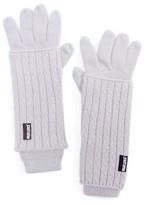 Muk Luks Women's Textured 3-in-1 Gloves - Light Purple