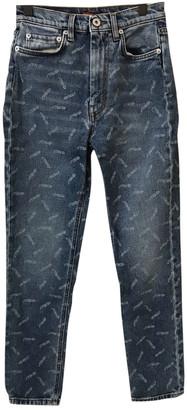 Heron Preston Blue Denim - Jeans Jeans