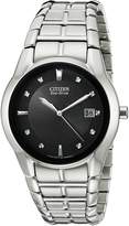 Citizen Men's BM6670-56E Eco-Drive Stainless Steel Dial Watch