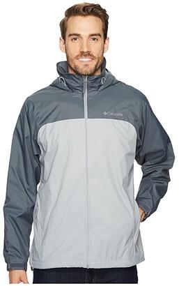 Columbia Glennaker Lake Lined Rain Jacket (Black) Men's Coat