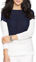 Lauren Ralph Lauren Color-Blocked Sweater