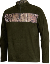 Night Forest Camo-Stripe Fleece Pullover - Men's Regular