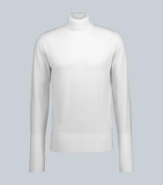 John Smedley Wool turtleneck sweater