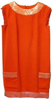 Chanel Orange Cotton Dress for Women