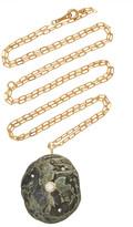Cvc Stones Marshy 18K Gold, Diamond And Stone Necklace