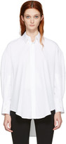 Calvin Klein Collection White Boxy Khia Shirt