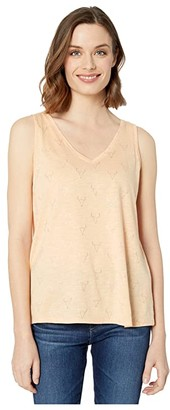 Ariat Steer Tribe Tank Top (Apricot Rays) Women's Clothing