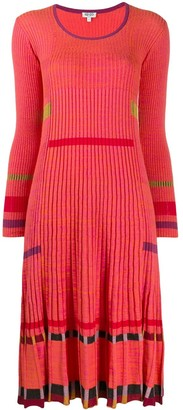 Kenzo ribbed midi dress