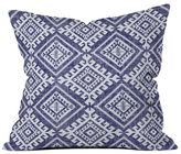 DENY Designs Shakami Denim Outdoor Throw Pillow
