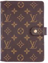 Louis Vuitton Monogram Medium Ring Agenda