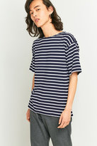 Armor Lux Classic Navy And White Striped T-shirt
