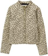 Gymboree Quilted Leopard Jacket