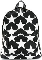 Givenchy star print small backpack