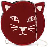 Charlotte Olympia Pussycat shoulder bag - women - Calf Leather/Velvet - One Size