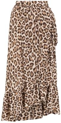 Zimmermann Lucky Frilled Skirt