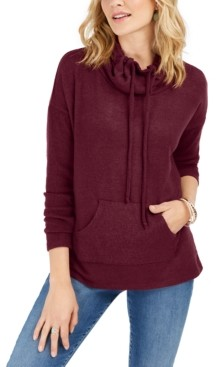Style&Co. Style & Co Cowlneck Pullover, Created for Macy's