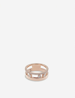 Messika Move Romane 18ct rose-gold and diamond ring
