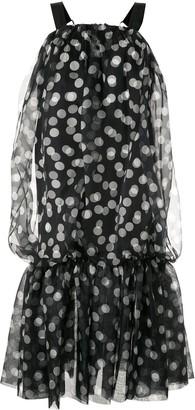 Lee Mathews Cherry Spot bubble dress