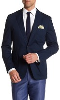 Kroon White Navy Two Button Notch Lapel Jacket
