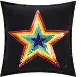Jan Constantine Glam Rock Rainbow Cushion