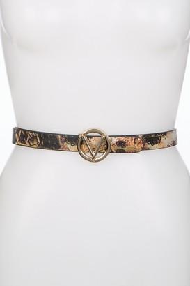 Mario Valentino Baby Wild Leather Belt - Large