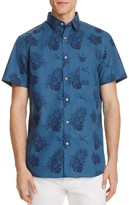 Sovereign Code Banky Tropical Regular Fit Button-Down Shirt