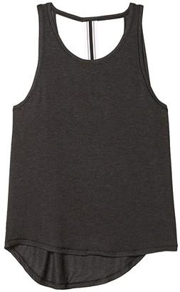 Lole Assent Tank (Black Heather) Women's Clothing