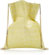Tl 180 TL 180 Le Fazzoletto Croc-Embossed Leather Crossbody Bag