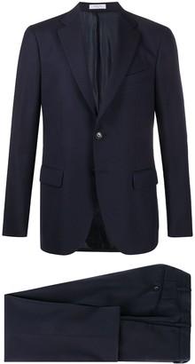 Boglioli Window Pane two-piece suit