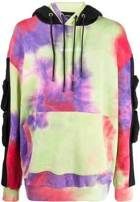 Mauna Kea Tie-Dye Print Five-Pocket Hoodie