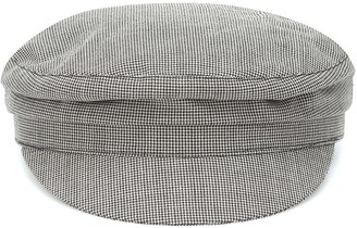 Isabel Marant Evie houndstooth wool cap