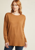 ModCloth Ease Achieved Pullover Sweater in Sienna in 2X