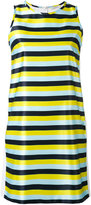 Iceberg striped mini dress - women - Cotton/Polyester - 38
