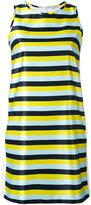 Iceberg striped mini dress - women - Cotton/Polyester - 38