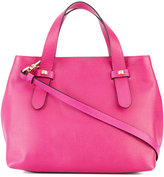 Borbonese small tote - women - Leather/Polyester - One Size