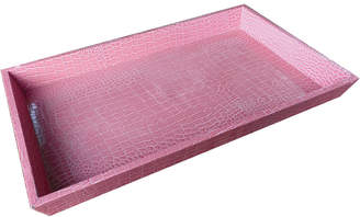A&B Home Urban Vogue Faux Leather Tray