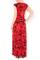 Wallis Red Floral Maxi Dress