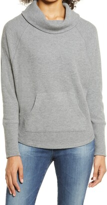 Caslon Thermal Cowl Neck Top