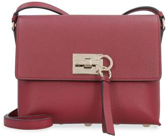 Salvatore Ferragamo The Studio Leather Crossbody Bag