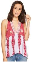 Free People Dream Darlin Tank Top Women's Sleeveless